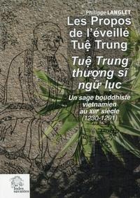 Les propos de léveillé Tuê Trung - Un sage bouddhiste vietnamien au XIIIe siècle (1230-1291).pdf