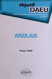 Philippe Lanoë - Anglais.