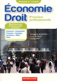 Deedr.fr Economie Droit 1e Bac pro tertiaires Image