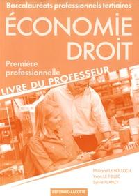 Histoiresdenlire.be Economie Droit 1re Bac Pro tertiaires - Livre du professeur Image