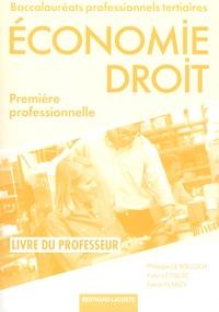 Economie Droit 1re Bac Pro tertiaires - Livre du professeur.pdf