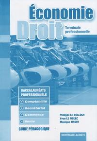 Feriasdhiver.fr Economie et Droit Tle professionnelle Bac pro - Guide pédagogique Image