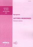 Philippe Le Guillou - Agrégation Lettres modernes - Concours externe.