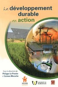 Philippe Le Prestre et Corinne Marache - Le développement durable en action - 6e Rencontre Champlain-Montaigne.