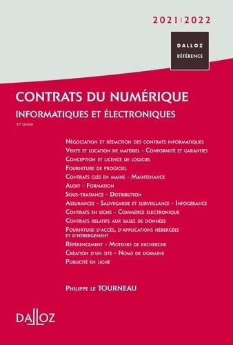 Contrats du numérique. Informatiques et électroniques  Edition 2021-2022