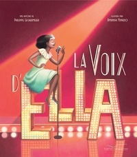 Philippe Lechermeier - La voix d'Ella - Livre CD.