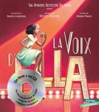 Philippe Lechermeier et Amanda Minazio - La voix d'Ella. 1 CD audio