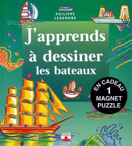 Philippe Legendre - Les bateaux - Avec un magnet puzzle.