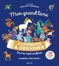 Philippe Legendre - Mon grand livre j'apprends à dessiner - Tous tes sujets préférés.
