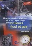 Philippe Legourd - Mise en service, réglage, aide au dépannage des brûleurs fioul et gaz.