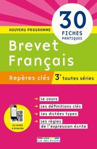 Brevet français 3e toutes séries - Philippe Lehu |