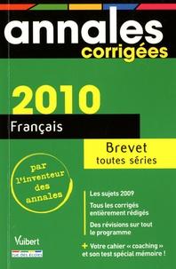 Philippe Lehu et Sandra Mourad - Français Brevet Toutes séries.
