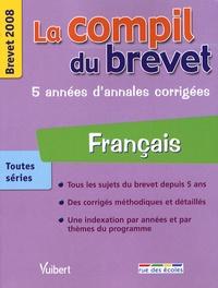 Philippe Lehu et Sandra Mourad - Français toutes séries - Brevet 2008.