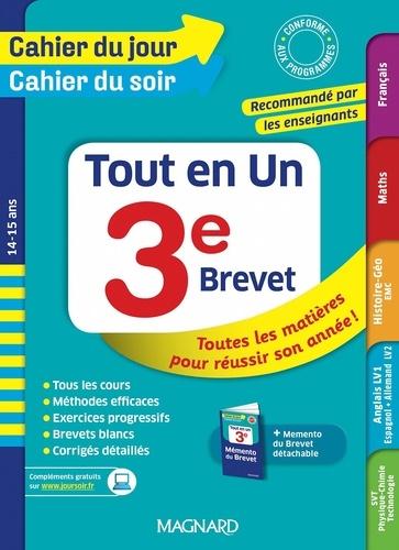 Philippe Lehu et Bruno Benitah - Tout en un 3e.