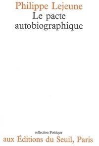 Philippe Lejeune - Le pacte autobiographique.