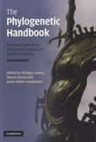 Philippe Lemey et Marco Salemi - The Phylogenetic Handbook - A Practical Approach to Phylogenetic Analysis and Hypothesis Testing.