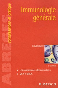 Philippe Letonturier - Immunologie générale.