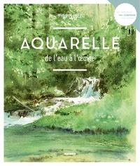 Philippe Lhez - Aquarelle de l'eau à l'oeuvre.