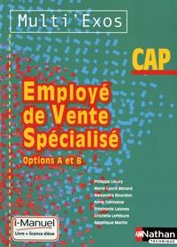 Philippe Lieury - CAP Employé de vente spécialisé - Options A et B.