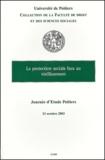 Philippe Ligneau et Marianne Faure-Abbad - La protection sociale face au vieillissement - Journée d'étude, Poitiers, 23 octobre 2003.