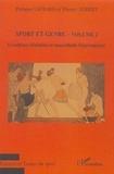 Philippe Liotard et Thierry Terret - Sport et genre - Volume 2, Excellence féminine et masculinité hégémonique.