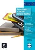 Philippe Liria et Jean-Paul Sigé - En route vers le DELF A1 scolaire et junior - Tout pour réussir l'examen. 1 CD audio