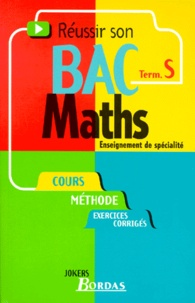 Philippe Lixi - Maths terminale S - Enseignement de spécialité.