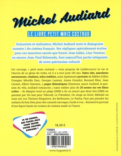 Michel Audiard. Le livre petit mais costaud