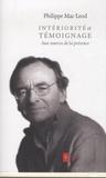 Philippe Mac Leod - Intériorité et témoignage - Aux sources de la présence.