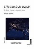 Philippe Machetel - L'insomnie du monde - De Ricoeur à Lévinas, la nécessité de l'autre.
