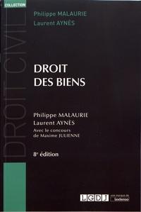 Philippe Malaurie et Laurent Aynès - Droit des biens.
