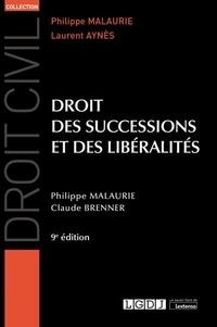 Philippe Malaurie et Claude Brenner - Droit des successions et des libéralités.
