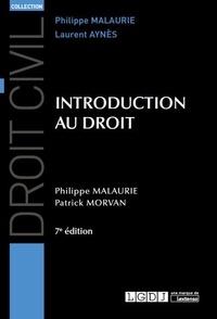 Philippe Malaurie et Patrick Morvan - Introduction au droit.