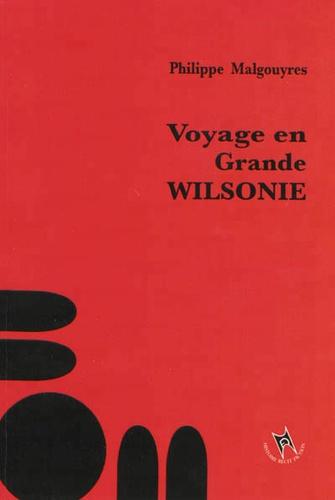 Philippe Malgouyres - Voyage en Grande Wilsonie.