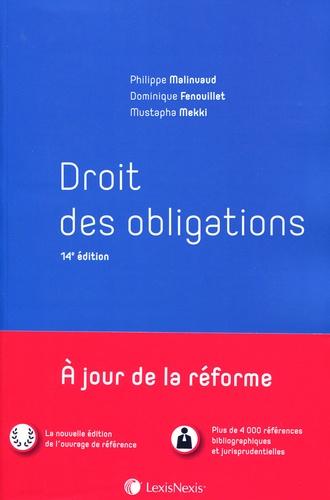 Philippe Malinvaud et Dominique Fenouillet - Droit des obligations.
