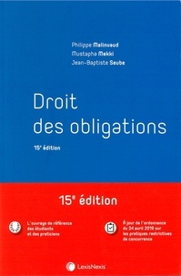 Droit des obligations - Philippe Malinvaud pdf epub