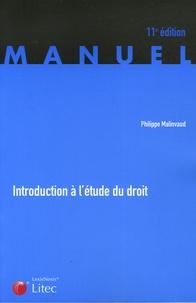 Philippe Malinvaud - Introduction à l'étude du droit.