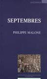 Philippe Malone - Septembres.