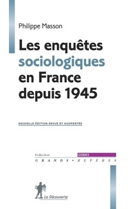 Revue livre en ligne Les enquêtes sociologiques en France depuis 1945 PDB (French Edition) 9782348056772 par Philippe Masson