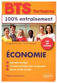 Philippe Massot-Bordenave - Economie BTS tertiaires - Programme de 1re et 2e années.