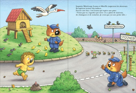 Mini-Loup Tome 34 Mini-Loup policier