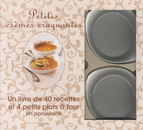 Philippe Mérel - Petites crèmes craquantes - Un livre de 40 recettes et 4 petits plats à four en porcelaine.