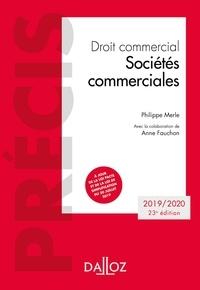 Téléchargez des livres japonais en ligne Droit commercial  - Sociétés commerciales par Philippe Merle, Anne Fauchon 9782247189618