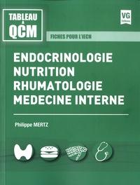Endocrinologie, nutrition, rhumatologie, médecine interne - Fiches pour liECN.pdf