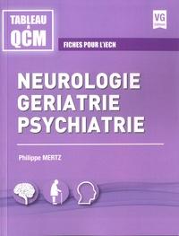 Neurologie, gériatrie, psychiatrie - Fiches pour liECN.pdf