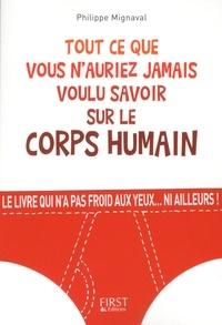 Philippe Mignaval - Tout ce que vous n'auriez jamais voulu savoir sur le corps humain.