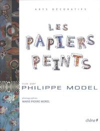 Philippe Model - Papiers peints.