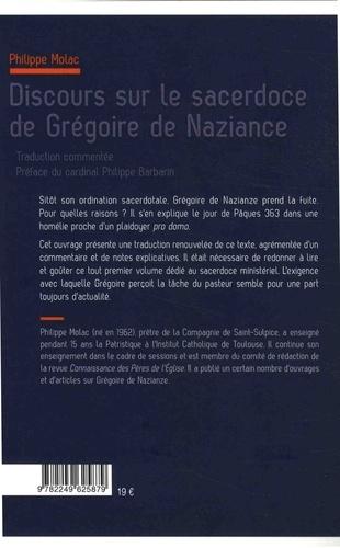 Discours sur le sacerdoce de Grégoire de Naziance
