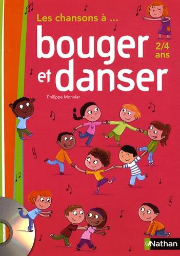 Les chansons à... bouger et danser PS, MS (2 à 4 ans). Guide pédagogique  avec 1 CD audio