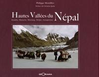 Philippe Montillier - Hautes vallées du Népal - Dolpo, Mustang, Kumbu, Manaslu, Annapurnas.